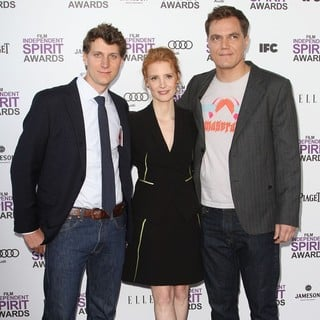 Jeff Nichols, Jessica Chastain, Michael Shannon in 27th Annual Independent Spirit Awards - Arrivals