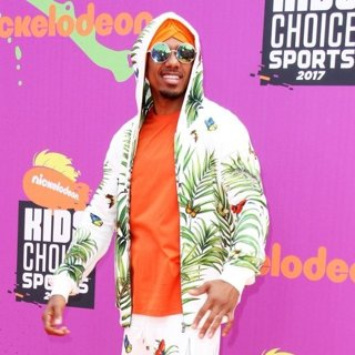 Nick Cannon in Nickelodeon's Kids' Choice Sports Awards 2017