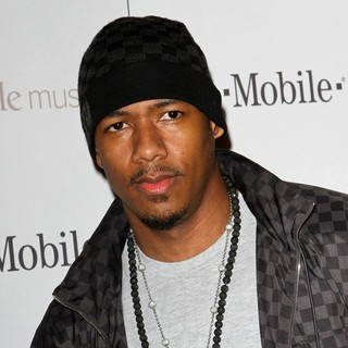 Nick Cannon in Celebrity Magenta Carpet Arrivals at The Launch Party for Google Music Available on T-Mobile