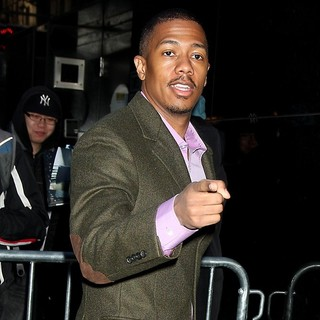 Nick Cannon in Nick Cannon Outside ABC Studios to Appear on Good Morning America
