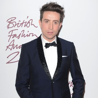 Nick Grimshaw in The British Fashion Awards 2012 - Arrivals