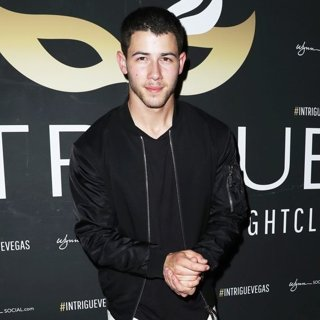 Nick Jonas at Intrigue Nightclub