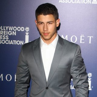 Nick Jonas, Jonas Brothers in The Hollywood Foreign Press Association's Grants Banquet