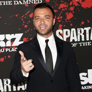 Nick Tarabay in U.S. Premiere Screening of Spartacus: War of the Damned