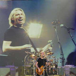 Chad Kroeger, Nickelback in Nickelback Performing Live on Stage