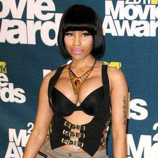 Nicki Minaj in 2011 MTV Movie Awards - Press Room