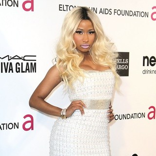 Nicki Minaj in 21st Annual Elton John AIDS Foundation's Oscar Viewing Party