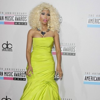 Nicki Minaj in The 40th Anniversary American Music Awards - Arrivals