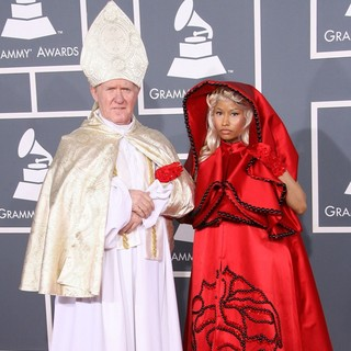 Nicki Minaj in 54th Annual GRAMMY Awards - Arrivals