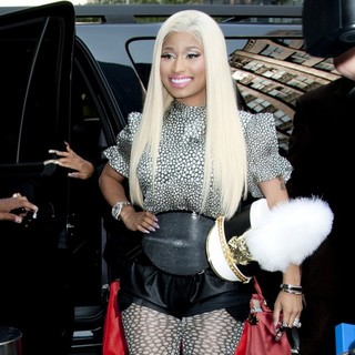 Nicki Minaj in American Idol Season 12 Auditions - Outside Arrivals