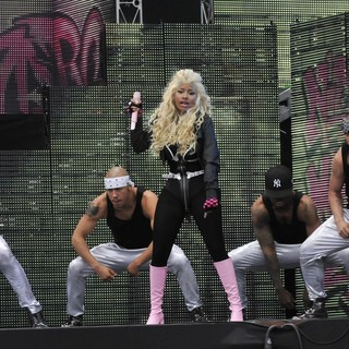 Nicki Minaj in BBC Radio 1's Hackney Weekend - Day 1