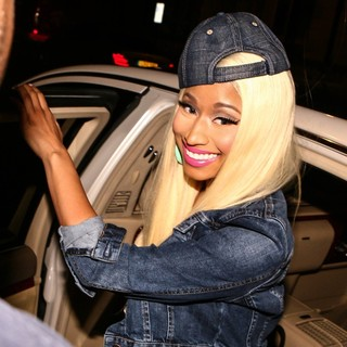 Nicki Minaj in Nicki Minaj Leaving Her Hotel