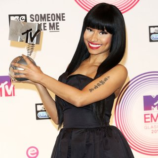Nicki Minaj - MTV Europe Music Awards 2014 - Press Room