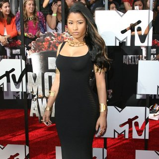 Nicki Minaj - MTV Movie Awards 2014 - Arrivals