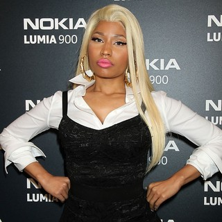 Nicki Minaj in The Nokia Lumia 900 Launches - Arrivals