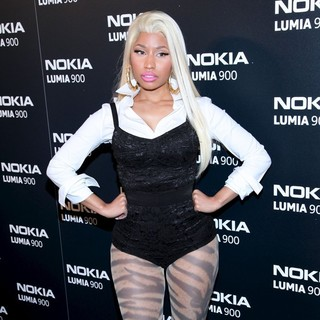 Nicki Minaj - The Nokia Lumia 900 Launches - Arrivals
