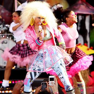Nicki Minaj in Nicki Minaj Performance on ABC's Good Morning America as Part of Their Summer Concert Series