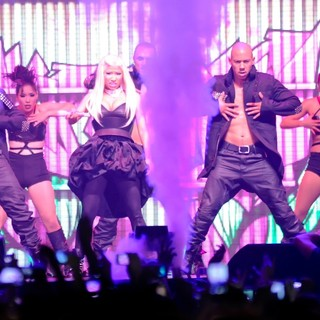 Nicki Minaj Performs on Stage During Her Pink Friday: Reloaded Tour 2012