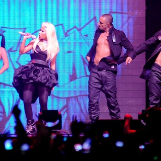 Nicki Minaj in Nicki Minaj Performs on Stage During Her Pink Friday: Reloaded Tour 2012