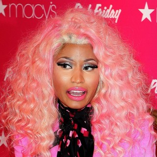 Nicki Minaj in Pink Friday Fragrance Launch