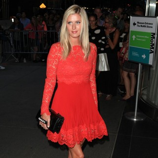 Nicky Hilton in New York Premiere of jOBS