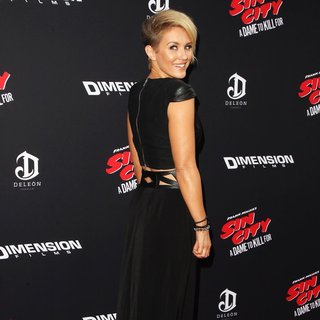 Nicky Whelan in Los Angeles Premiere of Sin City: A Dame to Kill For
