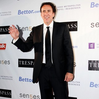Nicolas Cage in 36th Annual Toronto International Film Festival - Trespass - Afterparty Arrivals