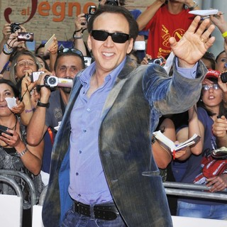 Nicolas Cage in The 42nd Giffoni Film Festival