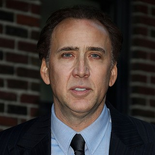 Nicolas Cage in Nicolas Cage Arrives at The Ed Sullivan Theater for The Late Show with David Letterman
