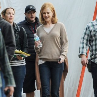 Nicole Kidman Spotted on The Set of The Secret in Their Eyes