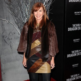 Nicole Miller in New York Premiere of The Girl with the Dragon Tattoo - Arrivals