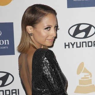 Nicole Richie in Clive Davis and The Recording Academy's 2013 Pre-Grammy Gala and Salute to Industry Icons