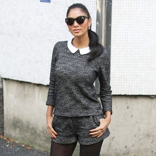 Nicole Scherzinger in Nicole Scherzinger at The ITV Studios