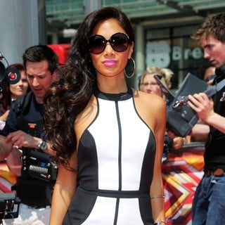 Nicole Scherzinger in The X Factor London Auditions - Arrivals