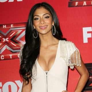 Nicole Scherzinger in FOX's The X Factor Press Conference