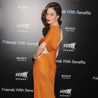 Nicole Trunfio in New York Premiere of Friends with Benefits - Arrivals