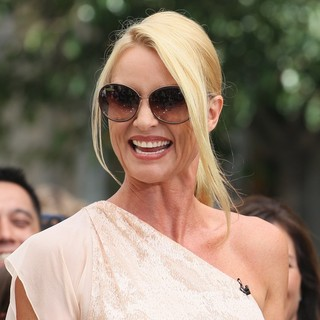 Nicollette Sheridan Is Seen on Extra