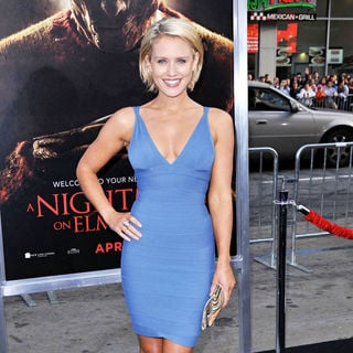 "Nicky Whelan in ""A Nightmare on Elm Street"" Los Angeles Premiere"