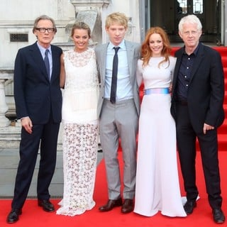 Bill Nighy, Margot Robbie, Domhnall Gleeson, Rachel McAdams, Richard Curtis in About Time UK Premiere - Arrivals
