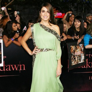 Nikki Reed in The Twilight Saga's Breaking Dawn Part I World Premiere