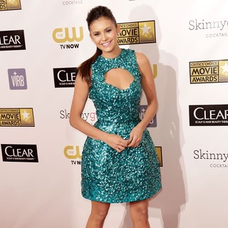 Nina Dobrev in 18th Annual Critics' Choice Movie Awards