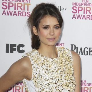 Nina Dobrev in 2013 Film Independent Spirit Awards - Arrivals
