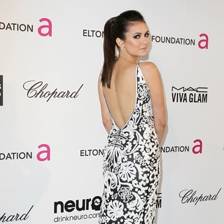Nina Dobrev in 21st Annual Elton John AIDS Foundation's Oscar Viewing Party