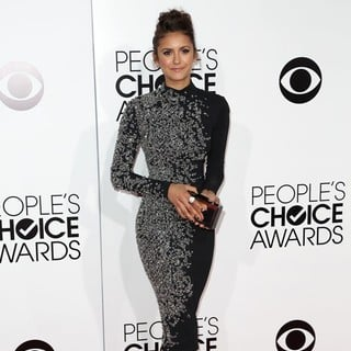Nina Dobrev in The 40th Annual People's Choice Awards - Arrivals