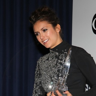 Nina Dobrev in The 40th Annual People's Choice Awards - Press Room