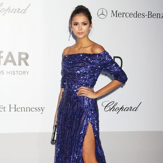 Nina Dobrev in AmfAR's Cinema Against AIDS Gala 2012 - During The 65th Annual Cannes Film Festival
