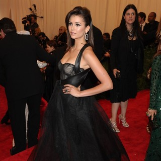 Nina Dobrev in PUNK: Chaos to Couture Costume Institute Gala
