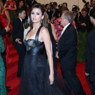 Nina Dobrev - PUNK: Chaos to Couture Costume Institute Gala
