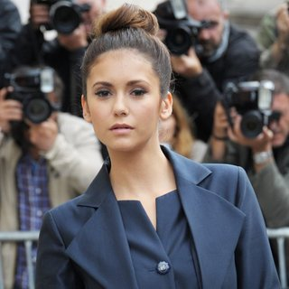 Nina Dobrev - Paris Fashion Week Haute Couture Fall-Winter 2014-2015 - Chanel - Outside Arrivals