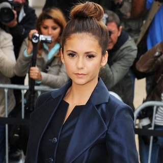 Nina Dobrev in Paris Fashion Week Haute Couture Fall-Winter 2014-2015 - Chanel - Outside Arrivals